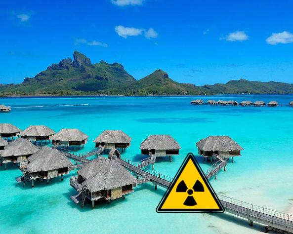 Bora Bora vize már most radioaktív. Vajon van olyan ember, akinek pénzügyileg érdekében áll, hogy ne beszéljen erről?