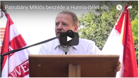 Patrubány Miklós beszéde