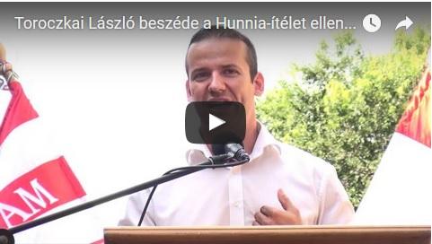 Toroczkai László beszéde