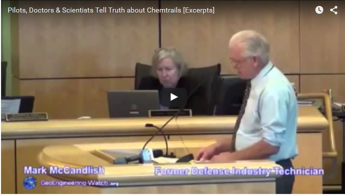 Pilots, Doctors & Scientists Tell Truth about Chemtrails [Excerpts]